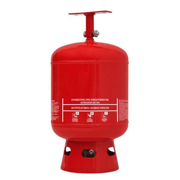 Πυροσβεστήρας οροφής ξηράς σκόνης ABC 40% 6kgr- Mpazigos.gr