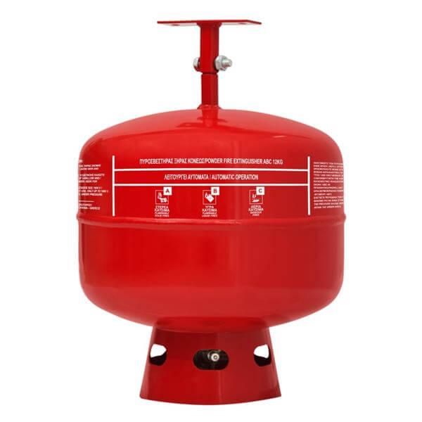 Πυροσβεστήρας οροφής ξηράς σκόνης ABC 40% 12kgr- Mpazigos.gr