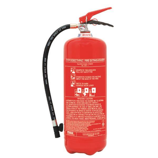 Πυροσβεστήρας ξηράς σκόνης ABC 40% 12kgr - Mpazigos.gr