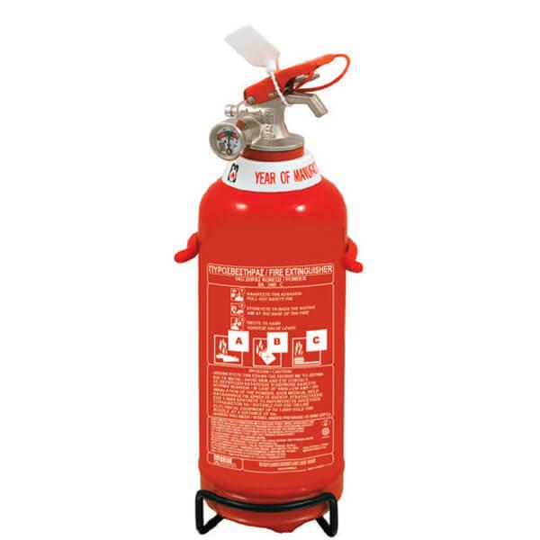 Φορητοί Πυροσβεστήρες Σκόνης 1kg- Mpazigos.gr
