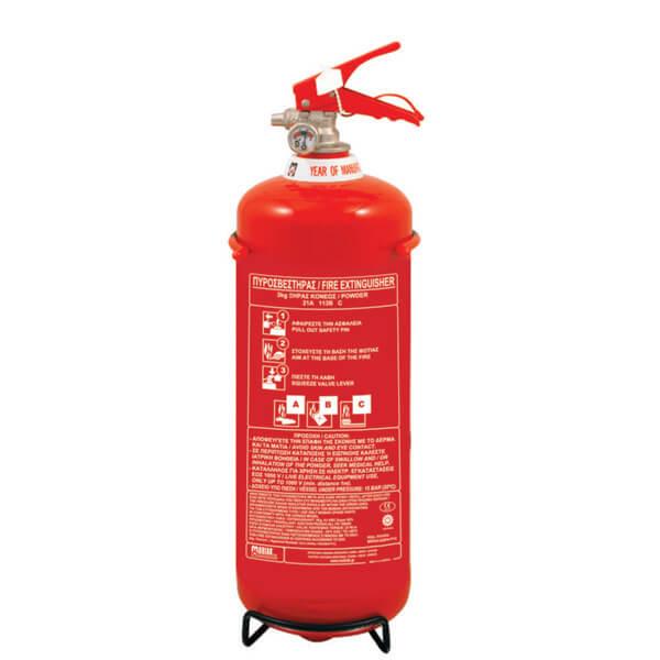 Φορητοί Πυροσβεστήρες Σκόνης - Mpazigos.gr